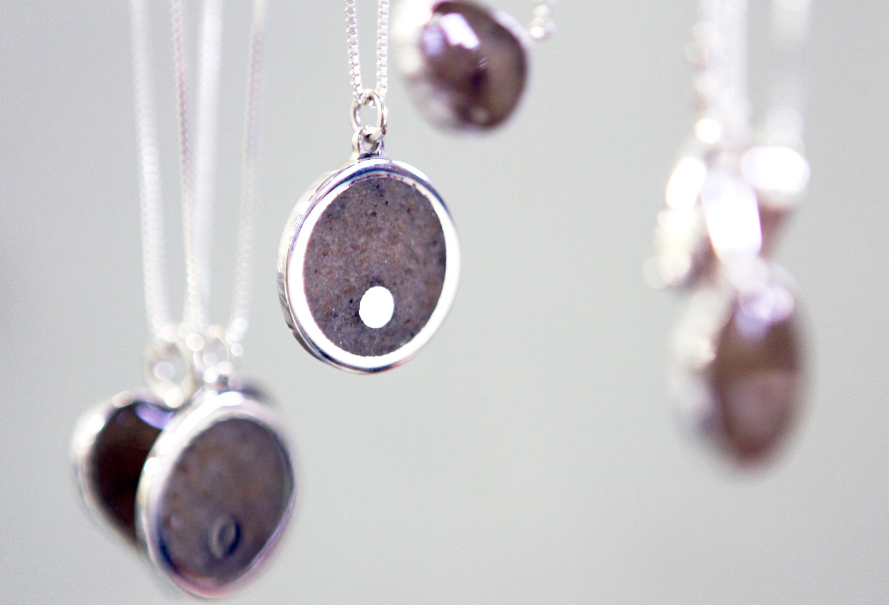 Matte Jewelry Island Necklaces