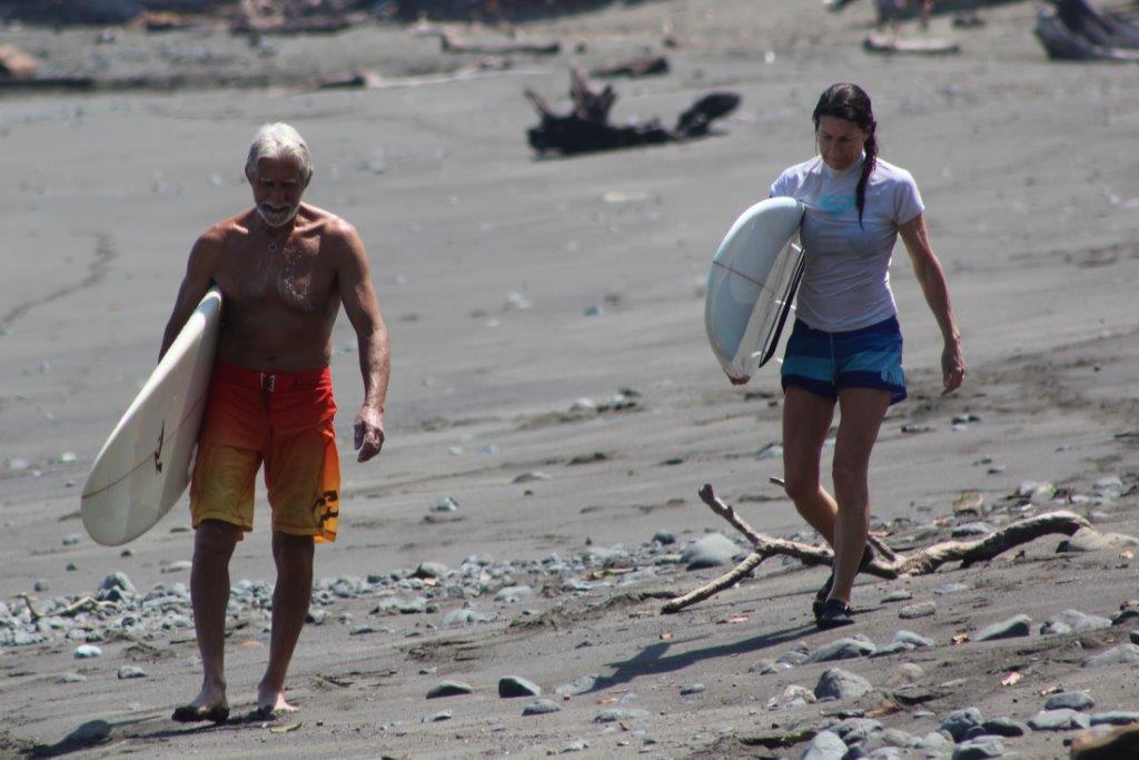 surf sun sand costa rica