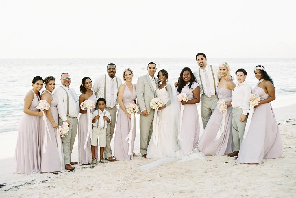 Dune Wedding Party