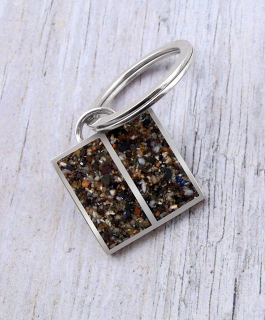 Sterling Silver Keychain Vacation Jewelry